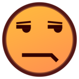 Unamused Face on emojidex 1.0.24