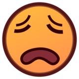 Weary Face on emojidex 1.0.24