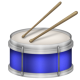 Drum on Emojipedia 5.2