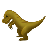 T-Rex on Emojipedia 5.2
