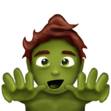 Zombie on Emojipedia 5.2