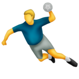 Person Playing Handball on Emojipedia 2.0
