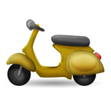 Motor Scooter on Emojipedia 2.0
