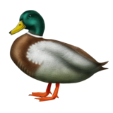 Duck on Emojipedia 3.0
