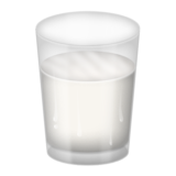 Glass of Milk on Emojipedia 3.0