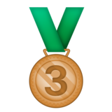 3rd Place Medal on Emojipedia 3.0