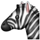 Zebra on Emojipedia 5.0