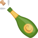 Bottle With Popping Cork on Facebook 2.2