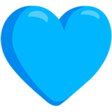 Blue Heart on Messenger 1.0