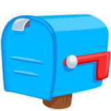 Closed Mailbox With Lowered Flag Emoji on Messenger 10