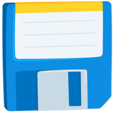 Floppy Disk on Messenger 1.0