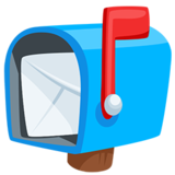 Open Mailbox With Raised Flag on Messenger 1.0