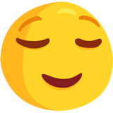 Relieved Face on Messenger 1.0