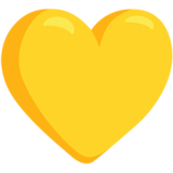 Yellow Heart on Messenger 1.0