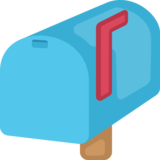 Closed Mailbox With Raised Flag Emoji on Facebook 20