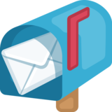 Open Mailbox With Raised Flag on Facebook 2.0