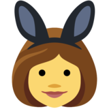 People With Bunny Ears Partying on Facebook 2.0