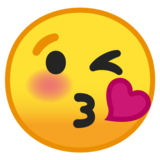Face Blowing a Kiss on Google Android O Beta