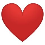 Red Heart on Google Android O Beta