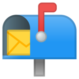 Open Mailbox With Raised Flag on Google Android O Beta
