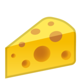 Cheese Wedge on Google Android 8.0
