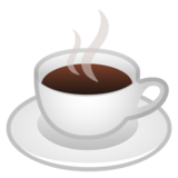 Hot Beverage on Google Android 8.0