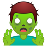 Man Zombie on Google Android 8.0