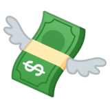 Money With Wings on Google Android 8.0
