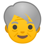 Older Adult on Google Android 8.0