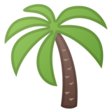 Palm Tree on Google Android 8.0