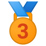 3rd Place Medal on Google Android 8.0