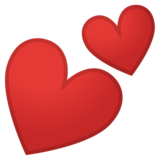 Two Hearts on Google Android 8.0