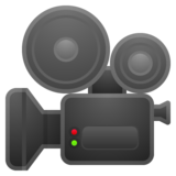 Movie Camera on Google Android 8.1