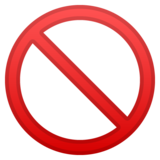 Prohibited on Google Android 8.1
