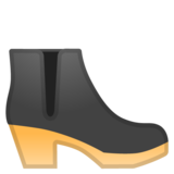 Woman's Boot on Google Android 8.1