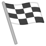 Chequered Flag on Google Android 9.0