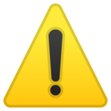 Warning on Google Android 9.0