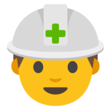Construction Worker on Google Android 7.0