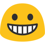 Grinning Face on Google Android 7.0