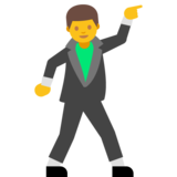 Man Dancing on Google Android 7.0