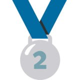 2nd Place Medal on Google Android 7.0
