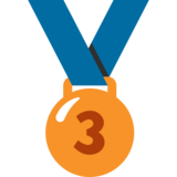 3rd Place Medal on Google Android 7.0