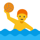 Person Playing Water Polo on Google Android 7.0