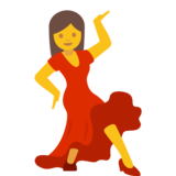 Woman Dancing on Google Android 7.1