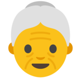 Old Woman on Google Android 7.1