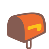 Open Mailbox With Lowered Flag on Google Android 7.1