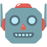 Robot Face on Google Android 7.1