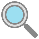 Left-Pointing Magnifying Glass on HTC Sense 7