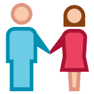 Man and Woman Holding Hands on HTC Sense 7