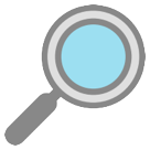 Right-Pointing Magnifying Glass on HTC Sense 7